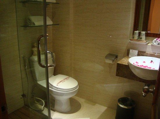 Hanoi Elite Hotel:                   Bathroom
