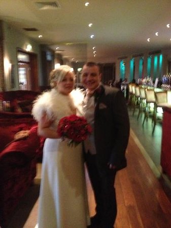 Smiths at Gretna Green Hotel:                   lovely bar area 19.12.12 Nikki & Darren Clarke