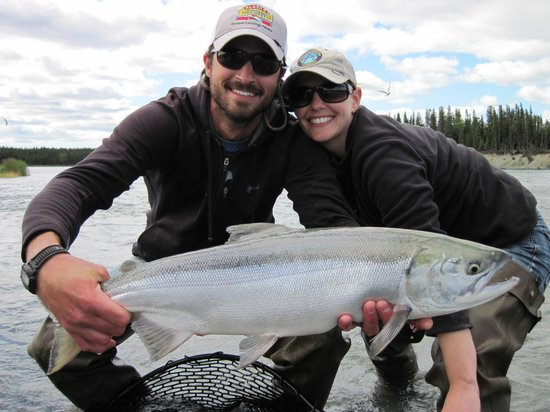 Alaska Kenai Fishing for Fun:                   Monster Sockeye