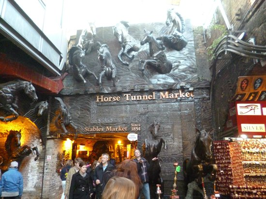 Holiday Inn London - Camden Lock:                   Horse tunnel markets, Camden Lock