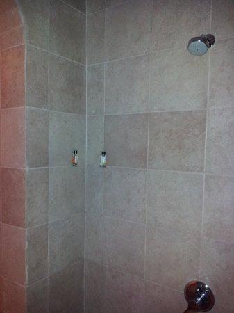 Divan's Bungalow :                   Prison cell shower area