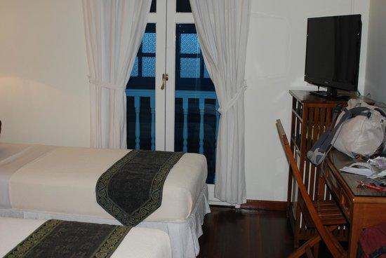 Perak Hotel: Die Zimmer sind sehr eng, leider.