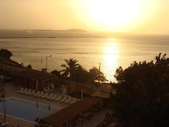 Novotel Dakar:                   Vista desde la Habitación