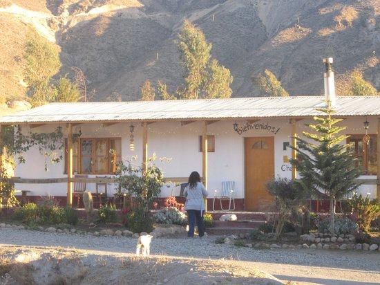 Hotel La Chakana :                   casa principal..de la chakana....Putre