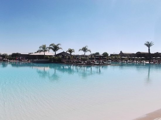 Hotel Riu Tikida Palmeraie:                   The Pool (Massive But Freezing)