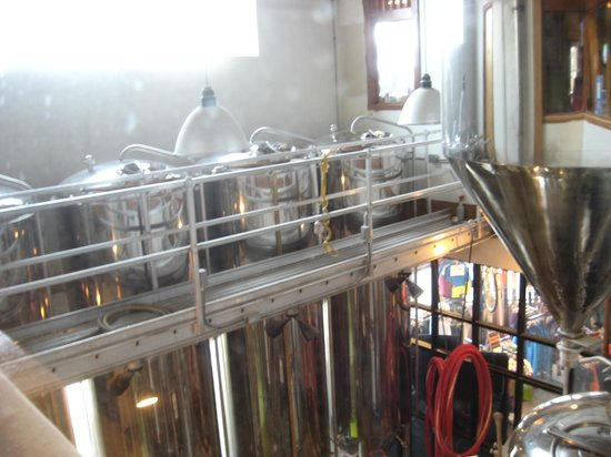 Back Country Brewery:                   Brew Area