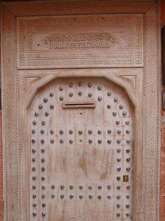 Riad Princesse Jamila:                   Front Door