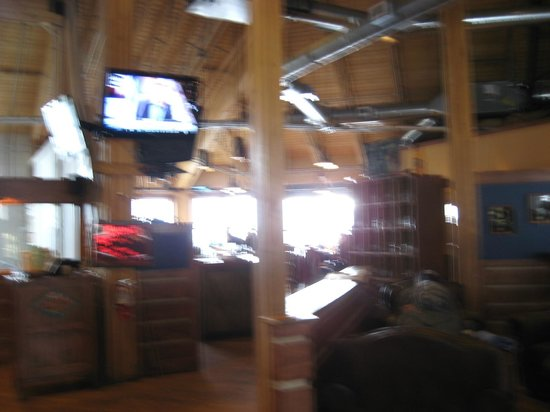 Back Country Brewery:                   Towards the Bar Area