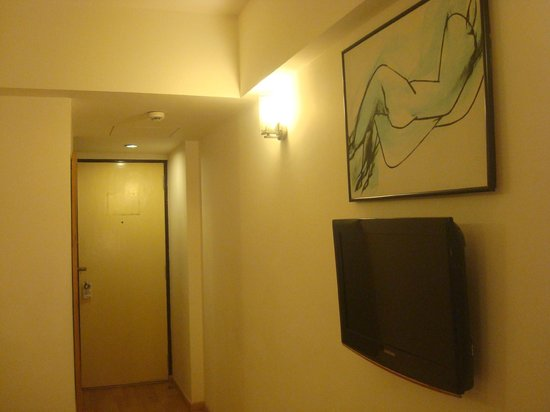 Red Fox Hotel Jaipur:                   Entrance of room