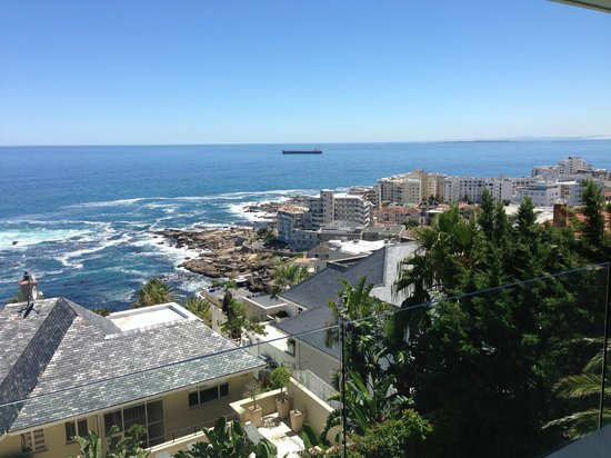 The Clarendon Bantry Bay:                   Ocean view from dining area
