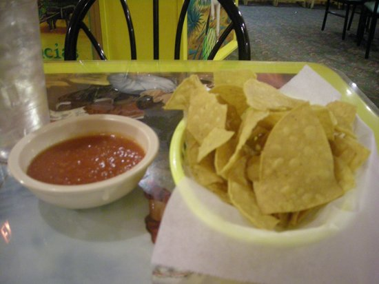 Kingsport, TN:                                     chips and salsa