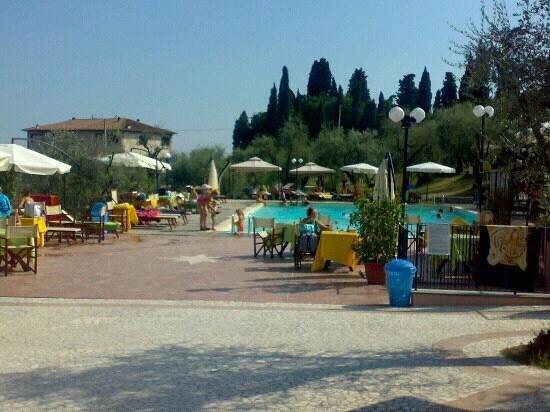 Villa Vezzani:                   piscina una bomboniera tra gli ulivi....eccezionale
