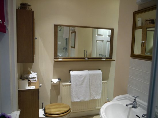 Mansion House Scarborough:                   bathroom