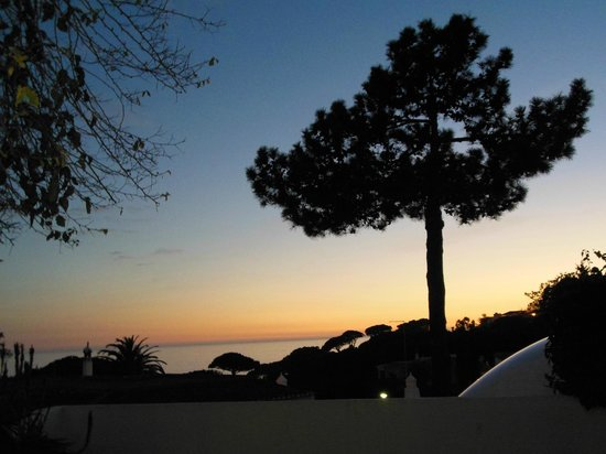 Apartamentos do Parque:                   View at sunset from Apt 5b