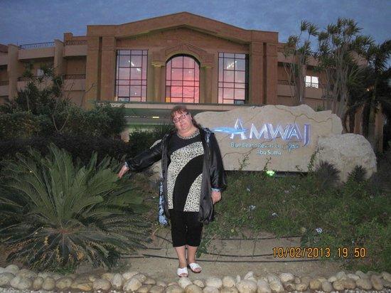 Amwaj Blue Beach Resort & Spa:                                     вход в отель