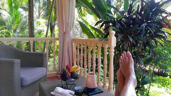 La Veranda Resort Phu Quoc - MGallery Collection:                   View from bungalow #207