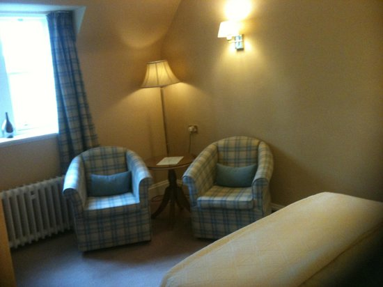 Ballathie House Hotel: Sitting area in room 23