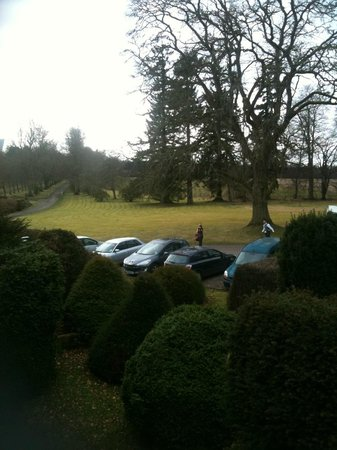 Ballathie House Hotel: View from room 23