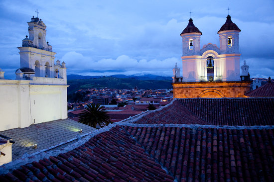 El Hostal de Su Merced: Beautiful rooftops views of the city