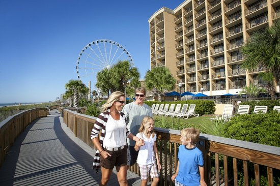 Holiday Inn at the Pavilion: Directly on the New Oceanfront Boardwalk