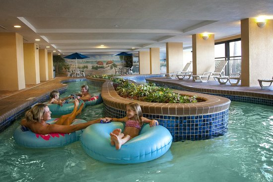 Holiday Inn at the Pavilion: Float Away in the Indoor Lazy River