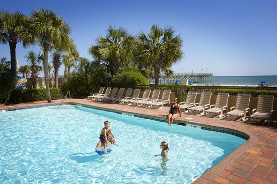 Holiday Inn at the Pavilion: Enjoy the Outdoor Heated Pool