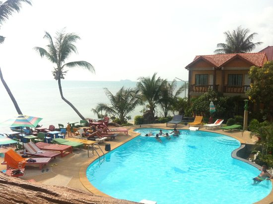 Friendly Resort & Spa:                   Vue de la chambre ! Piscine et océan