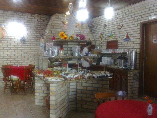Hotel Pousada Silene:                                     genial el area de desayunos