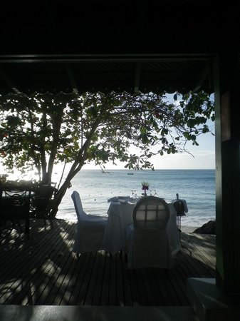 Mango Bay All Inclusive:                   View from restaurant