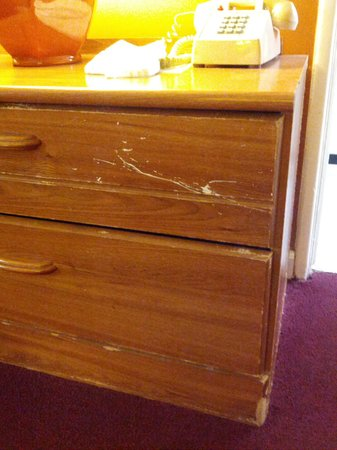 Coral Sands Motel:                   furniture scratched  and old   looks disgusting