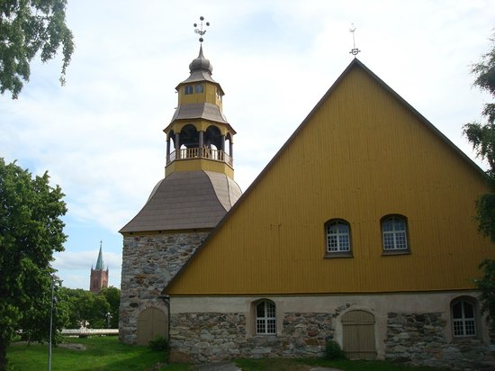 Uusikaupunki Old Church:                   Vanha Kirkko. June 2011.