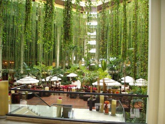 Paradisus Cancun:                   El Lobby Dia, Una belleza Natural                 