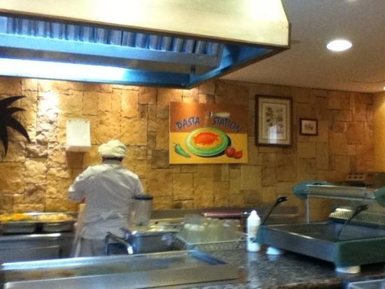 Suite Hotel Atlantis Fuerteventura Resort:                   pasta station in main restraunt