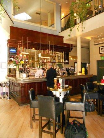 Browns Brasserie & Bar:                   Inside Browns Restaurant in Bath