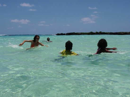 Aquana Beach Resort:                   ブルーラグーンツアー