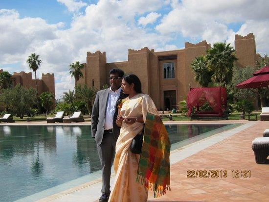 Sahara Palace Marrakech:                   outdoor pool