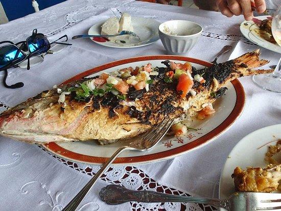 Chez Marie Jo :                                                       Plat poisson