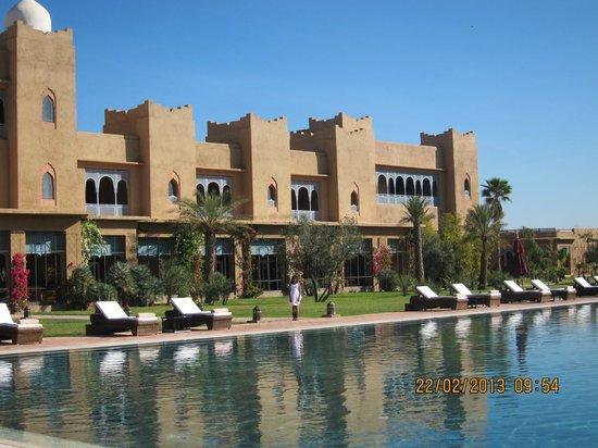 Sahara Palace Marrakech :                   gardens