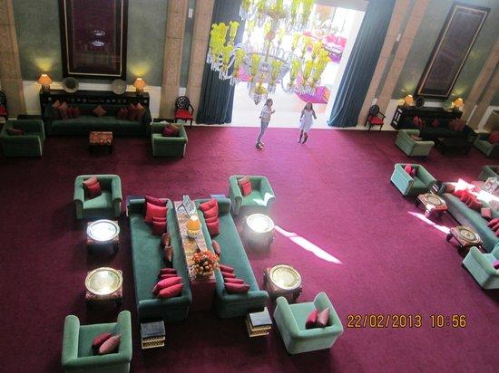Sahara Palace Marrakech :                   jade room