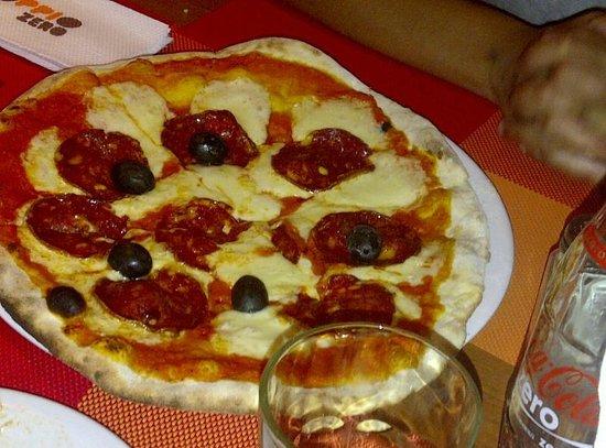 Doppio Zero:                   extraordinarias pizzas