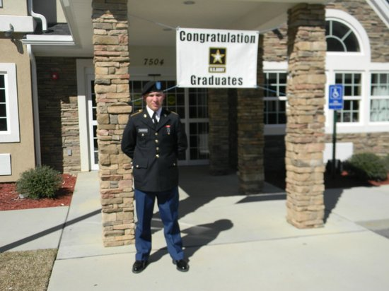 Microtel Inn & Suites by Wyndham Columbia/At Fort Jackson :                   For our soldiers