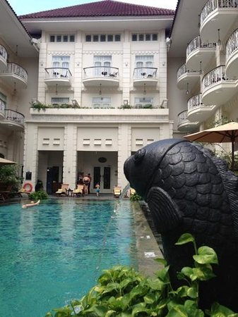 The Phoenix Hotel Yogyakarta - MGallery Collection:                   very nice pool