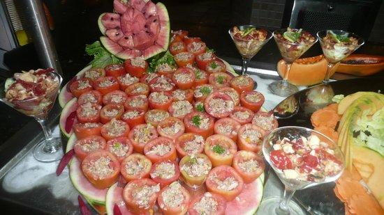 Catalonia Bavaro Beach, Casino & Golf Resort: Tomates au thon