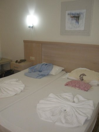 Sural Resort:                   w pokoju