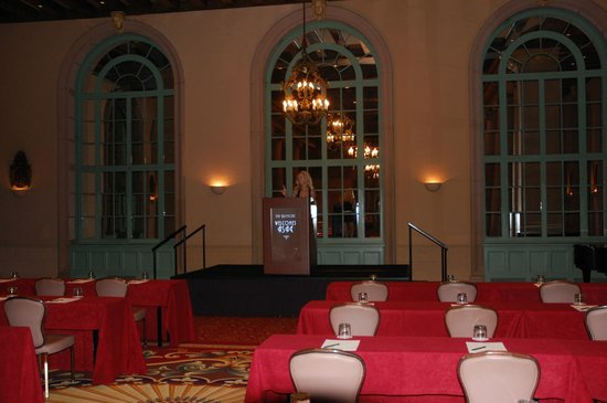 Millennium Biltmore Hotel Los Angeles:                   Just one on the many Ball rooms and conference rooms