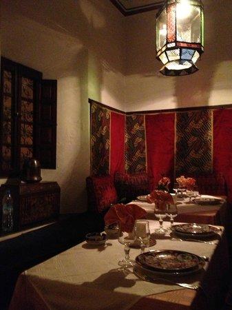 Ksar Es Saoussan : Un coin de l'une des salles