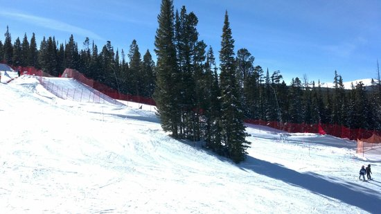 Copper Mountain Ski Area:                   lots of terrain parks, and a whole school for them