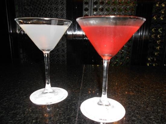 Paradisus Playa del Carmen La Perla:                   martinis