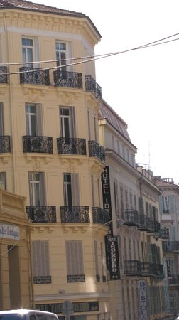 Hotel Trocadero: façade de l'hôtel