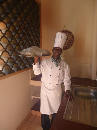 Pinewood Beach Resort & Spa:                   Our highly appreciated personal chef